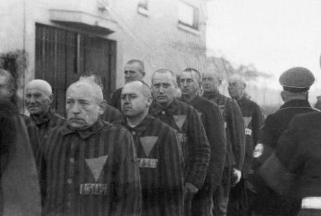 Male Concentration Camp Prisoners